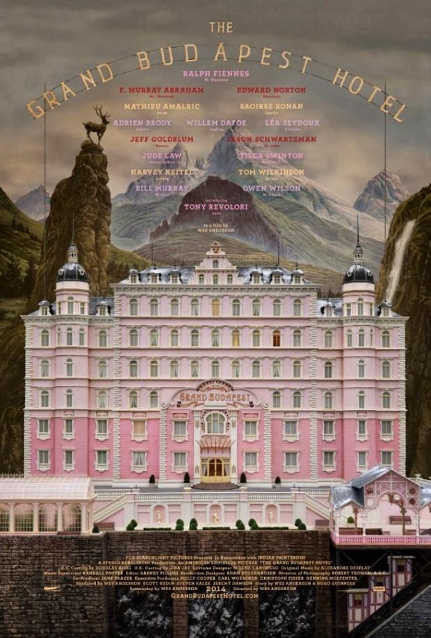 El recuerdo y el sueño sobre el Grand Budapest Hotel